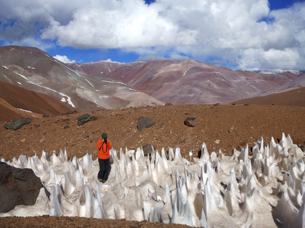 Lindsey in penitentes